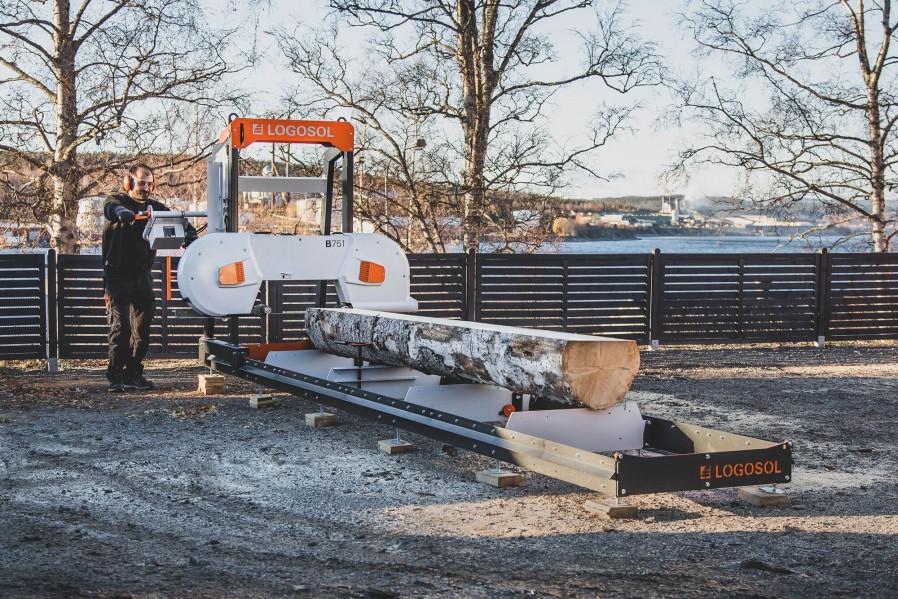 B751 Trak taśmowy napęd elektryczny 8 kW
