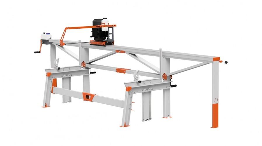 Trak F2+ (4 m) z pilarką elektryczna ES8, manualny zdalny posuw