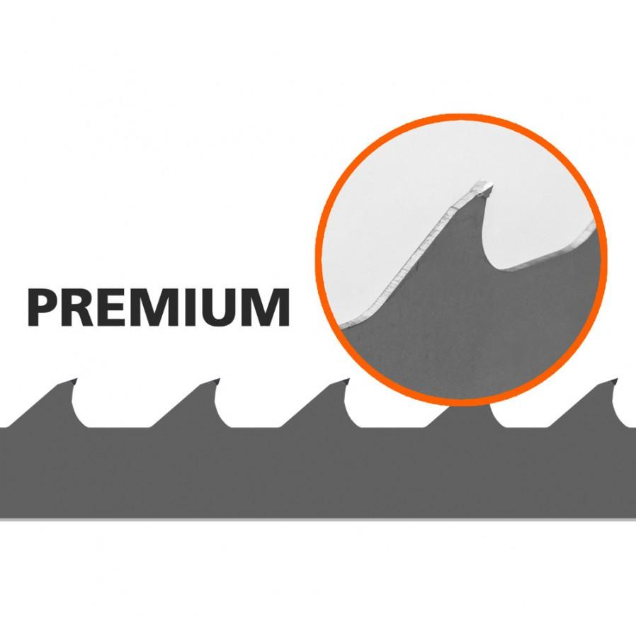 1 Brzeszczotów (Premium) do traka B751, L: 3843 mm, W:34 mm