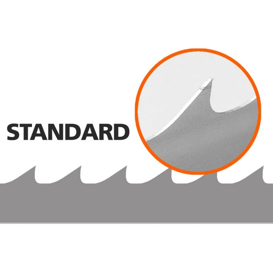 5 Brzeszczotów (Standard) do traka B1001, L: 4310 mm, W:33 mm
