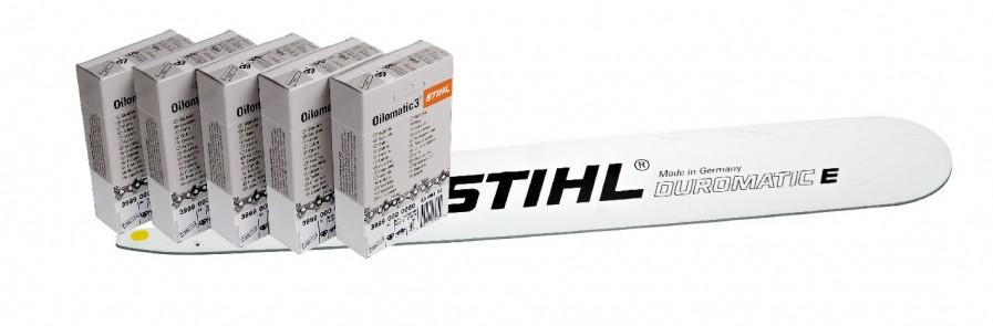 Prowadnica 40 cm Solid Premium 5 szt łańcuchów do cięcia wzdłużnego