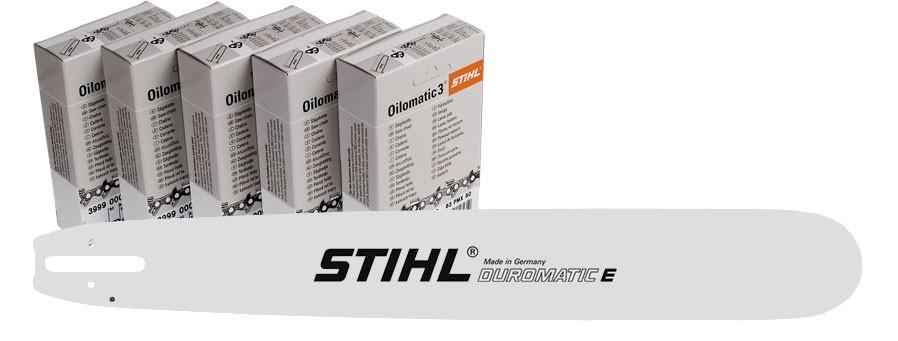 Pakiet Standard – prowadnica 40 cm + 5 łańcuchów