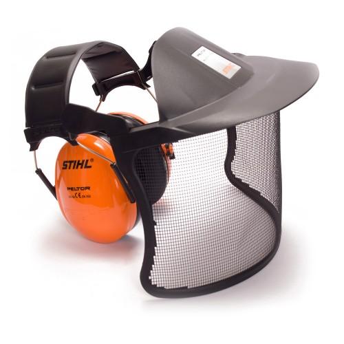 Ochraniacze słuchu i twarzy
