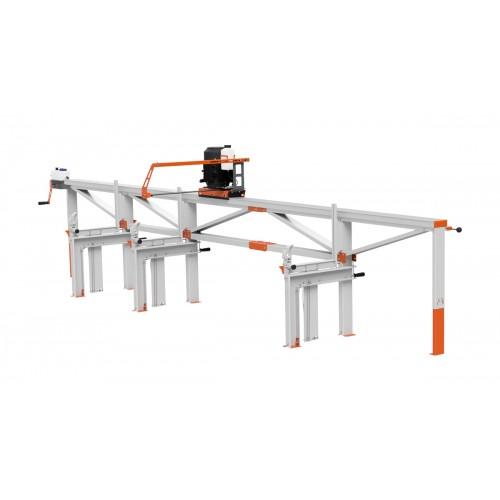 Trak F2 (5 m) z pilarką elektryczna ES5, manualny zdalny posuw