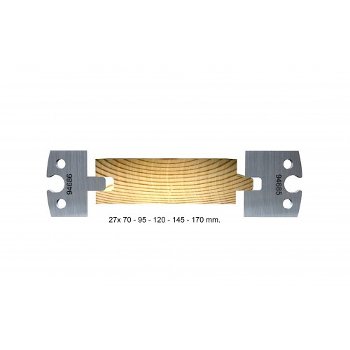 Tongue and groove 27 mm