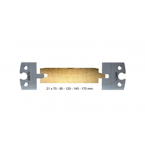 Tongue and groove 21 mm